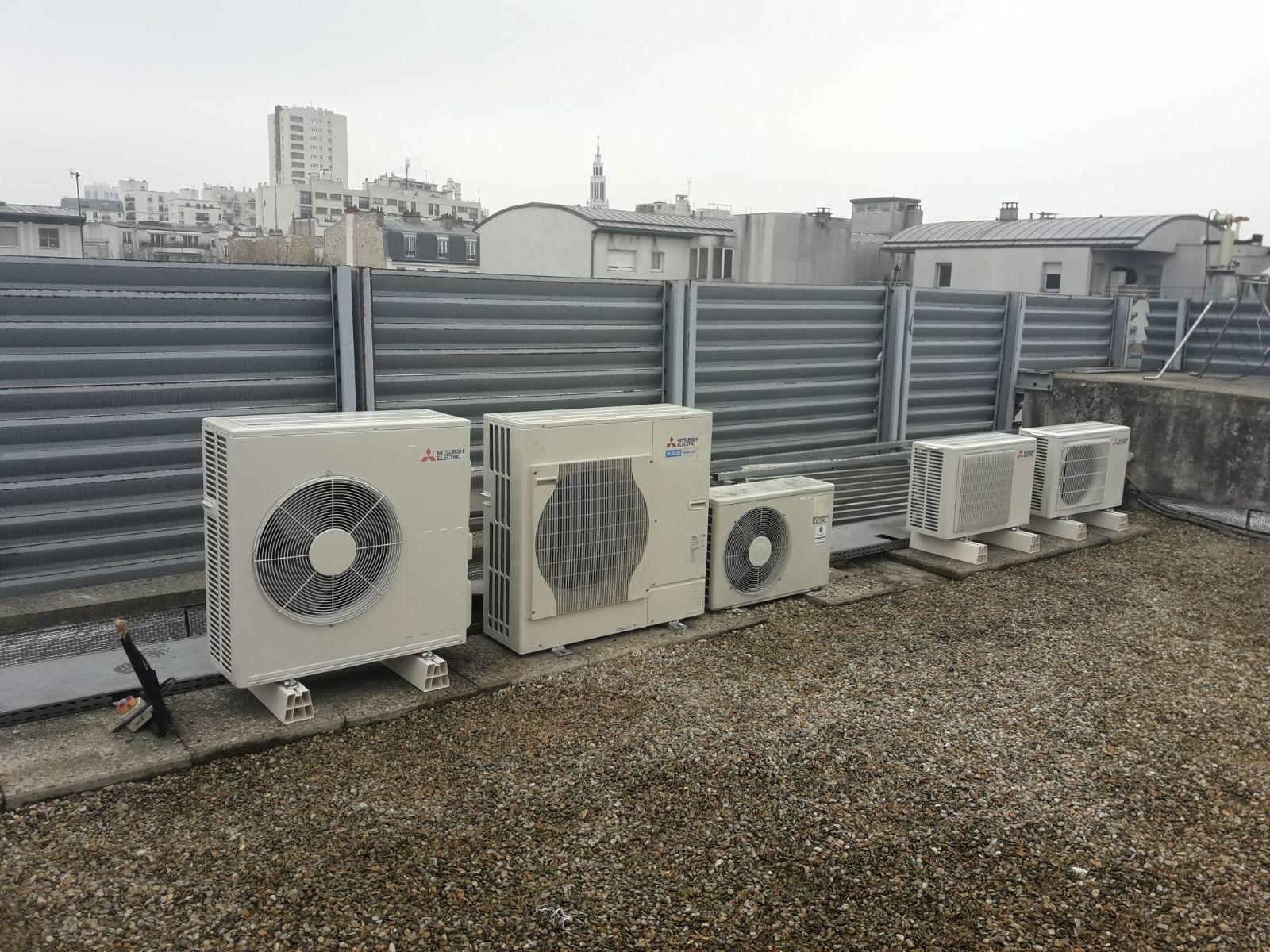 Installation Climatisation Puteaux