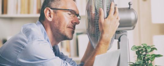 L'installation d'une climatisation dans un bureau